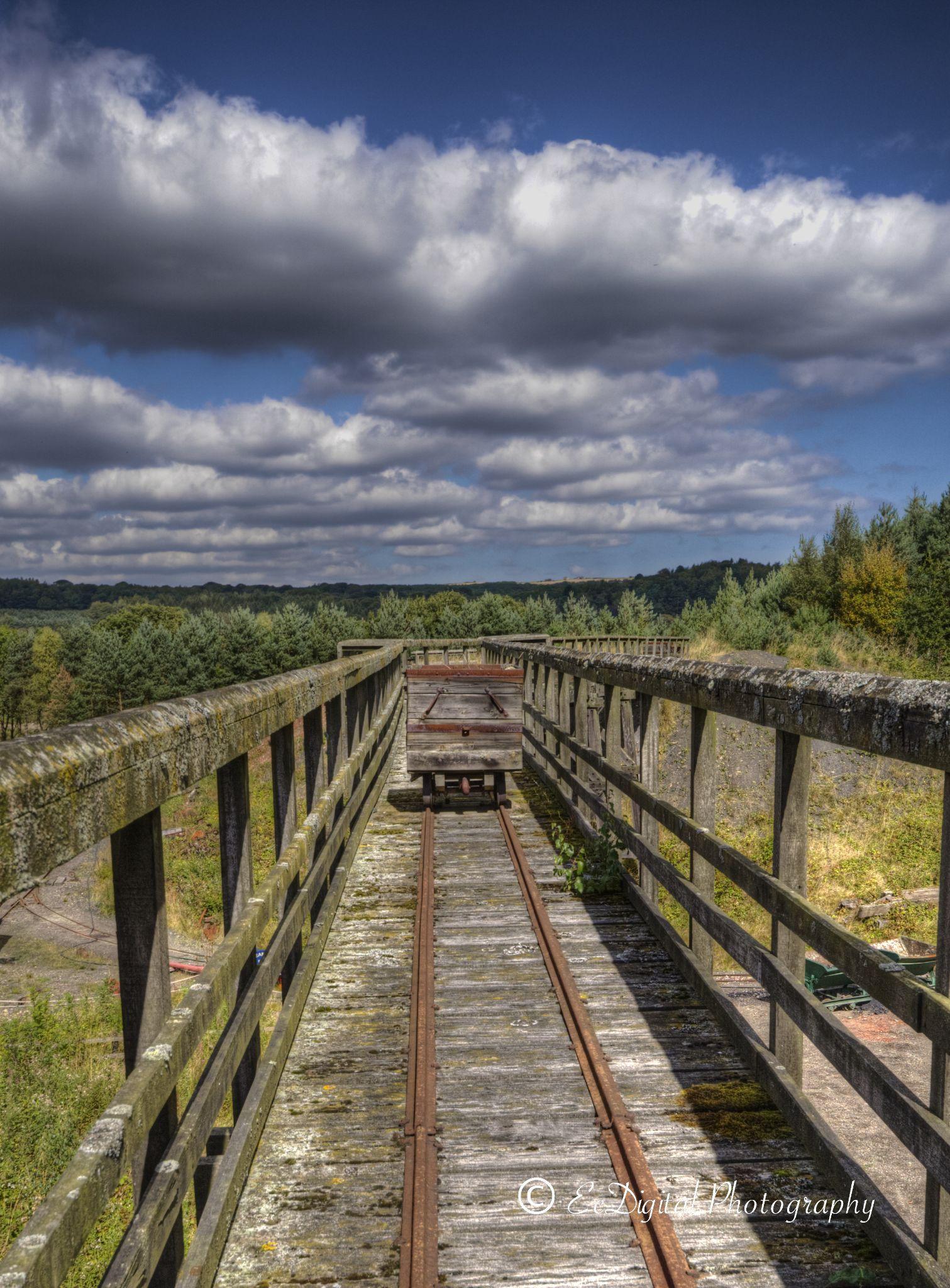 Mine Cart by EcDigital Photography