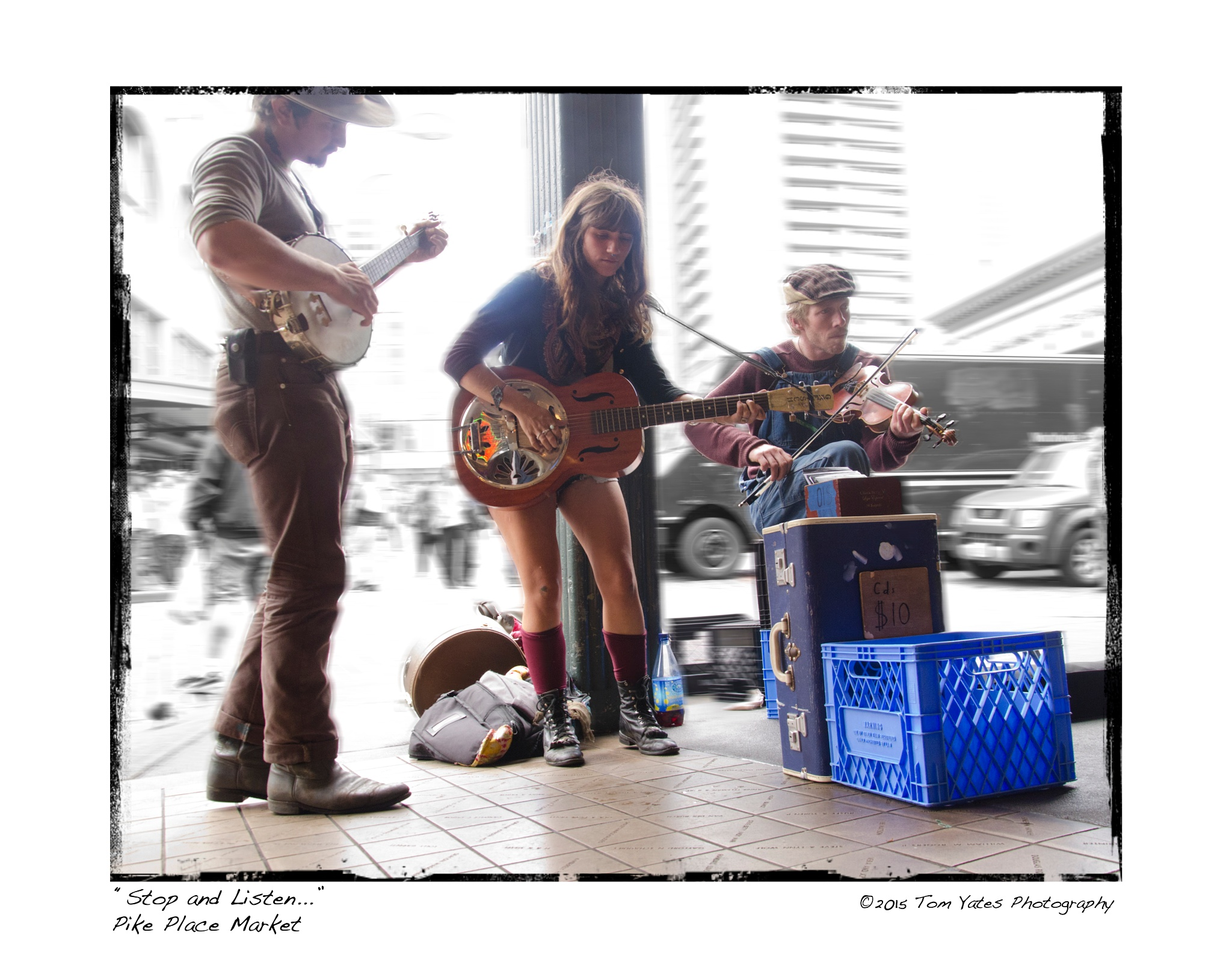 Photo in People #music #pike place market #seattle