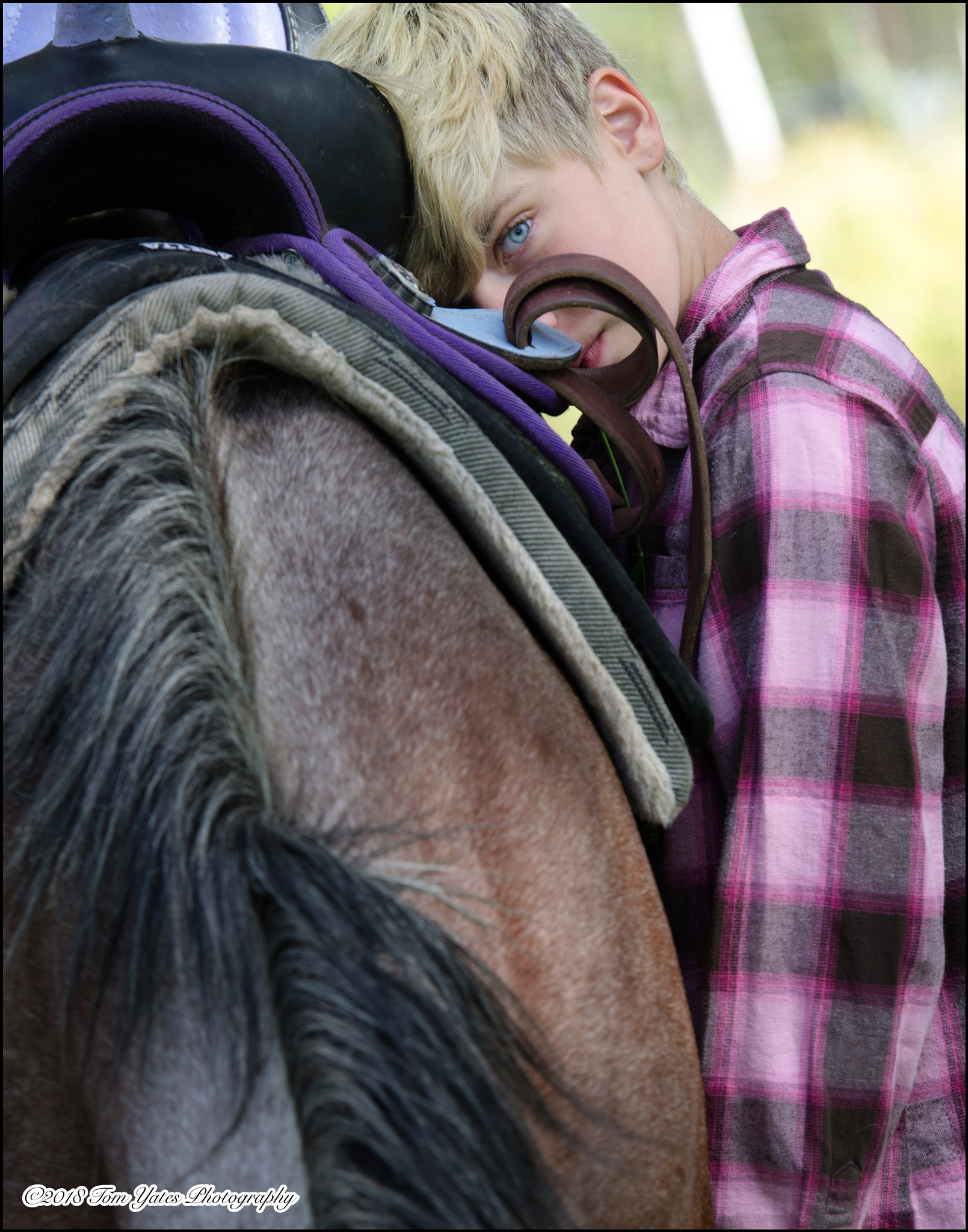 """""""A girl and her horse"""" by tom.yates.923"""