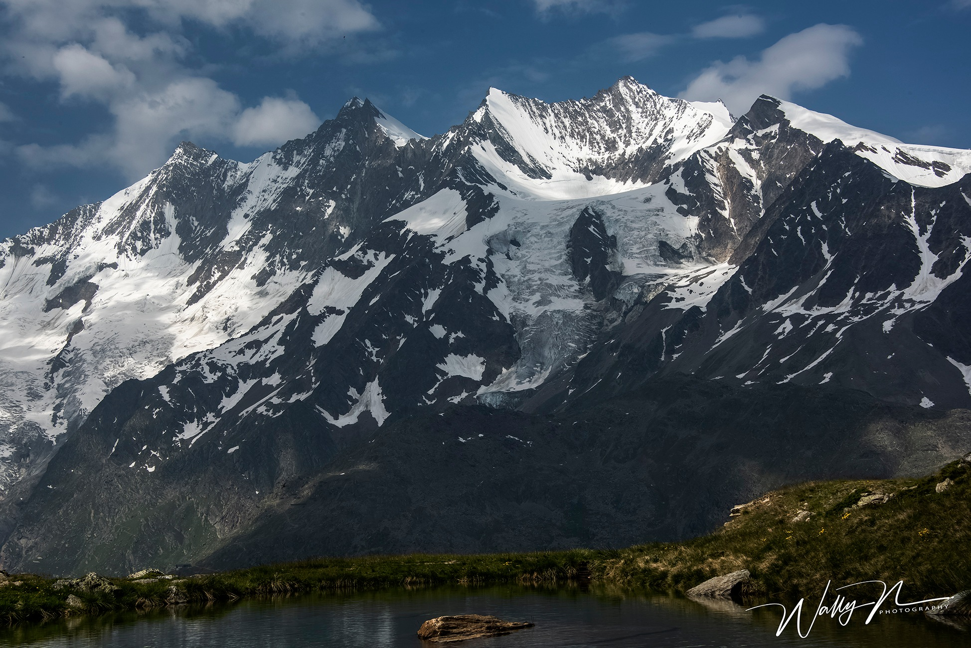 Photo in Landscape #mountains #scenic #swiss alps