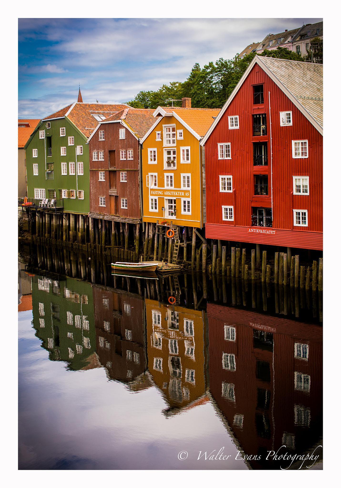 Trondheim by walter Evans