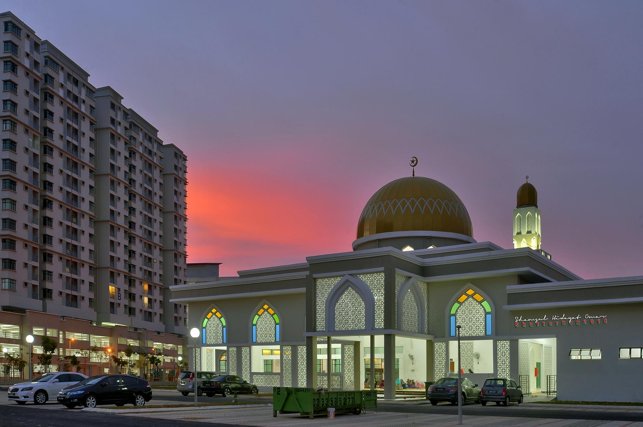 Masjid Seksyen 7 Shah Alam by ShamsulHidayatOmar