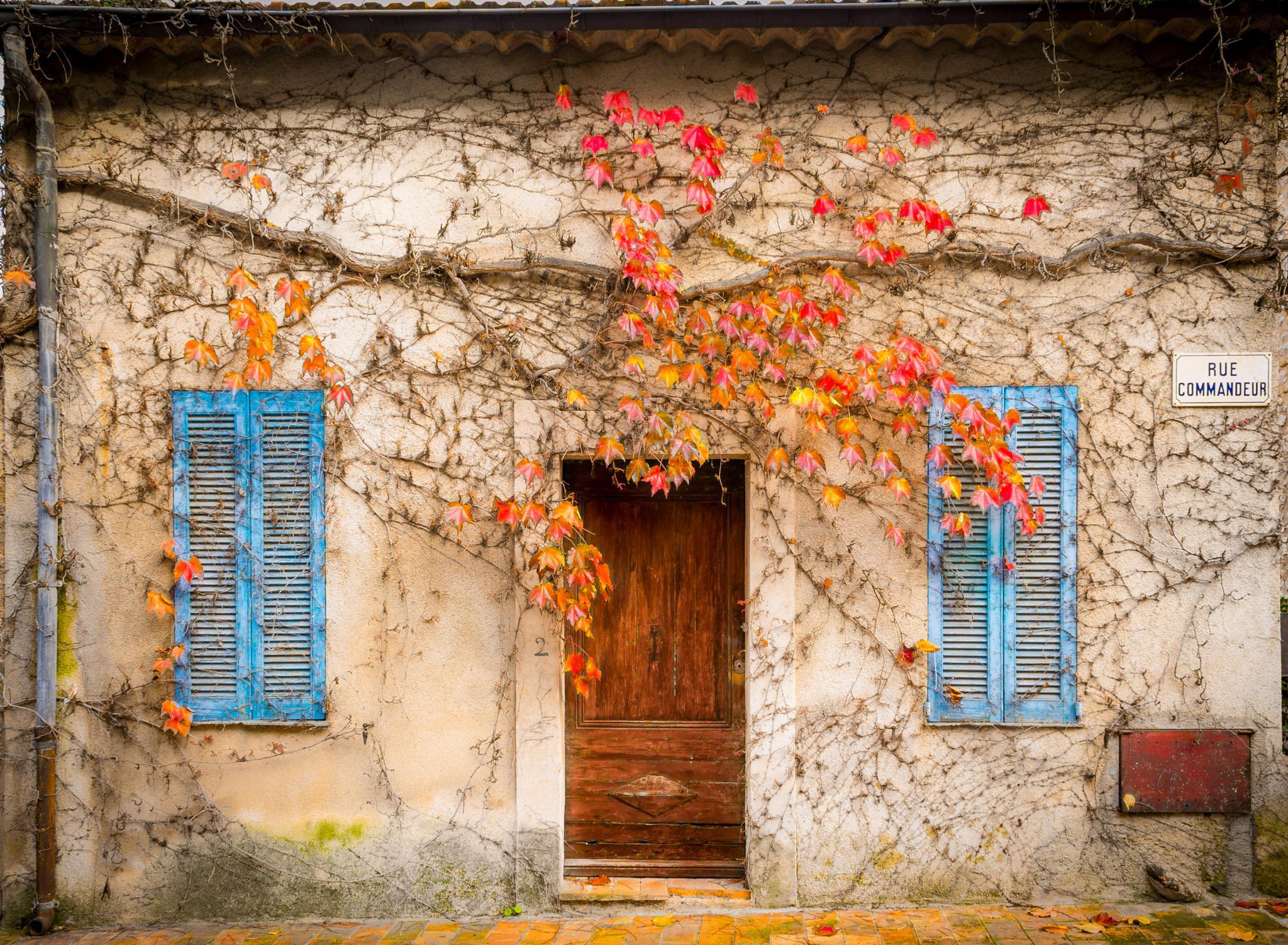 La maison aux volets bleus by Sameer