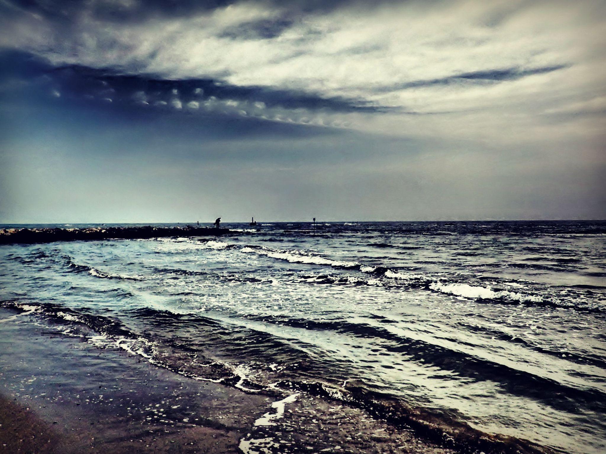 Adriatic Sea by Elisabeth Haugli Sindsen