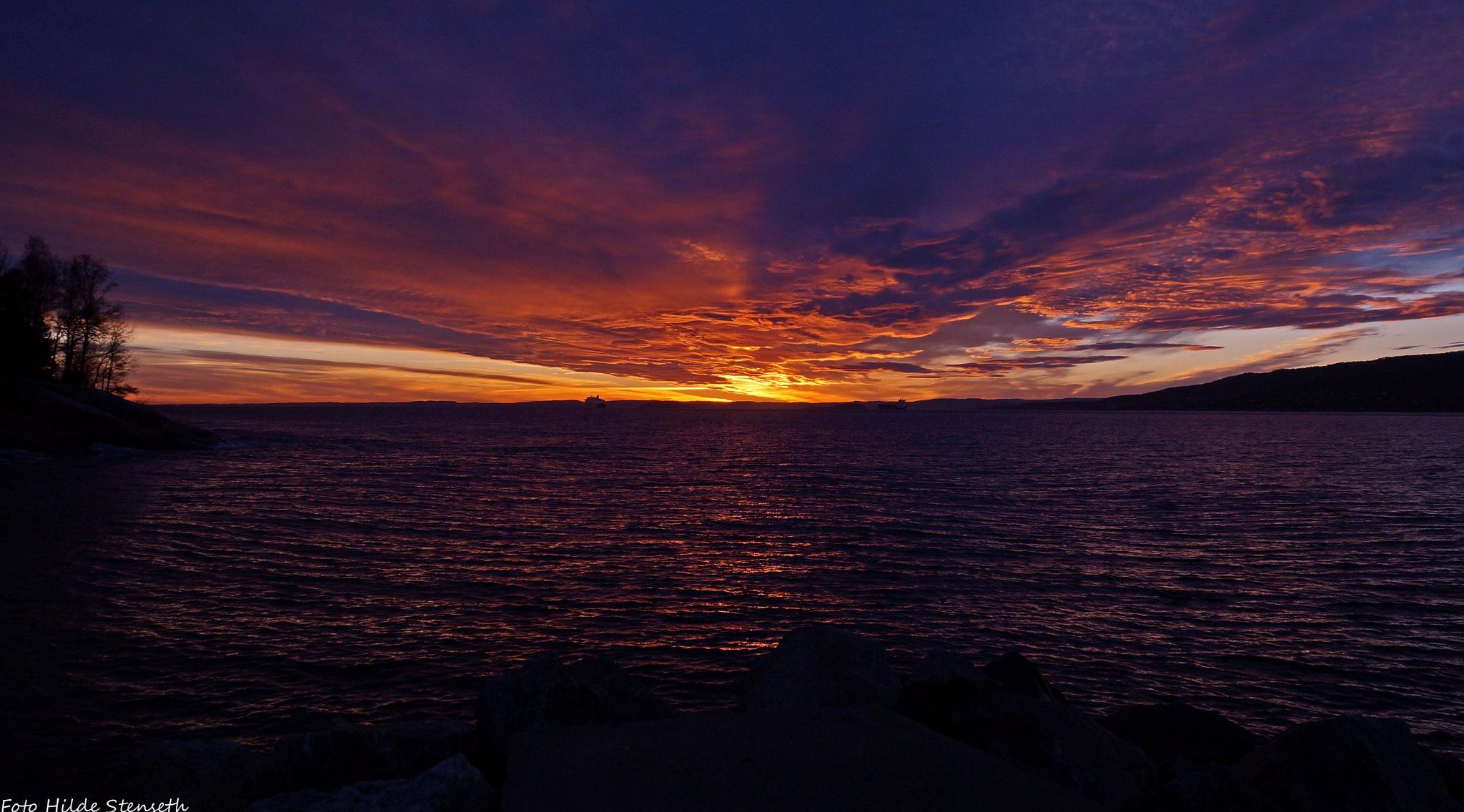 Sunset (2)! by hilde.stenseth.7