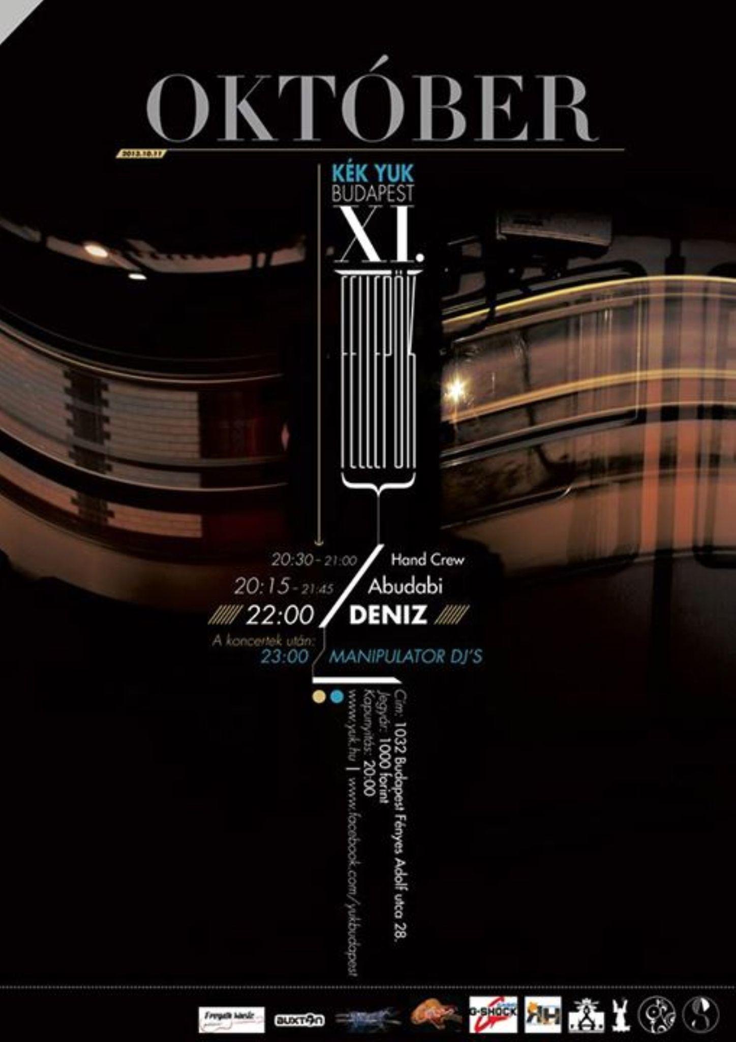 Concert poster by Archadié Studio