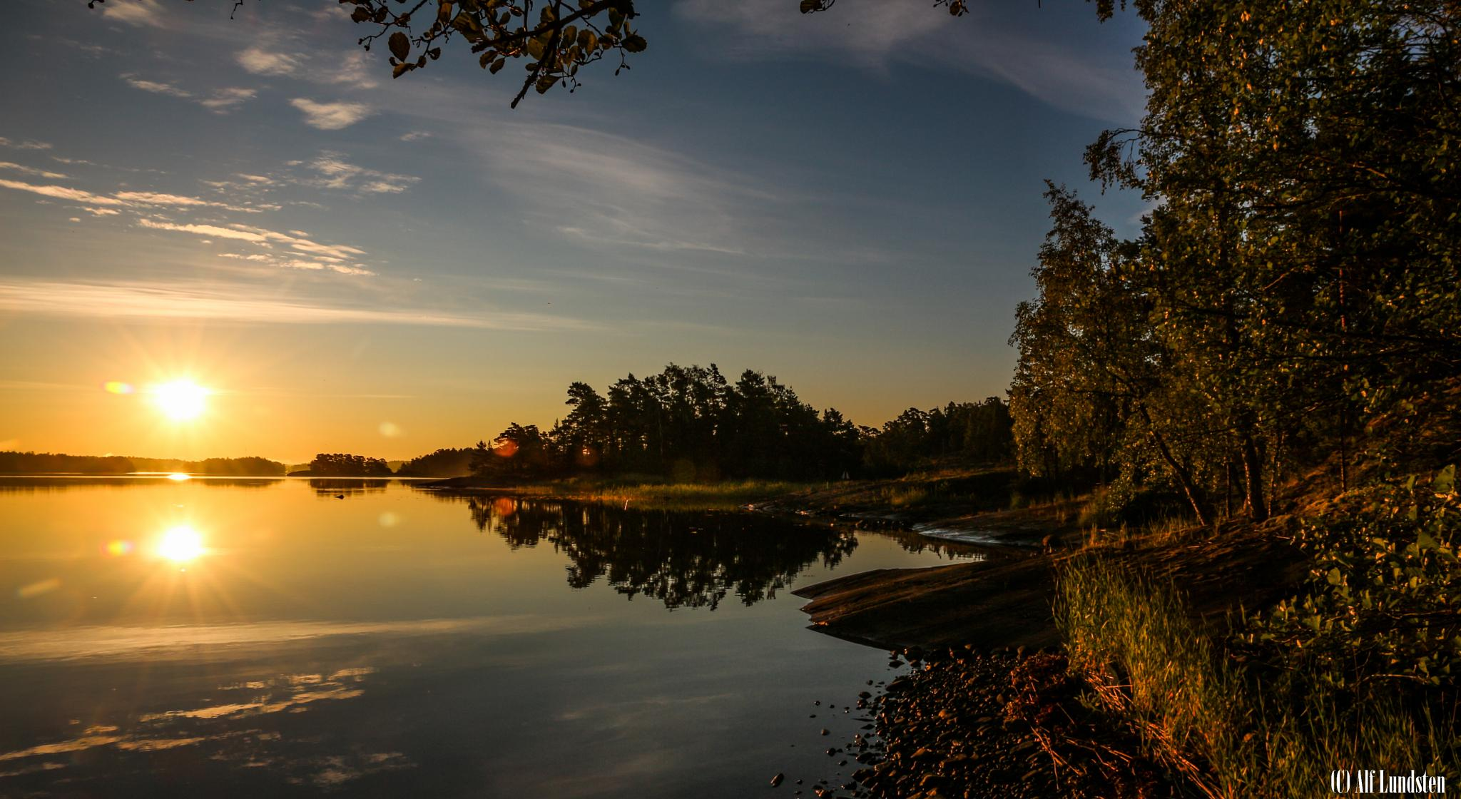 Magical Morning by alf lundsten