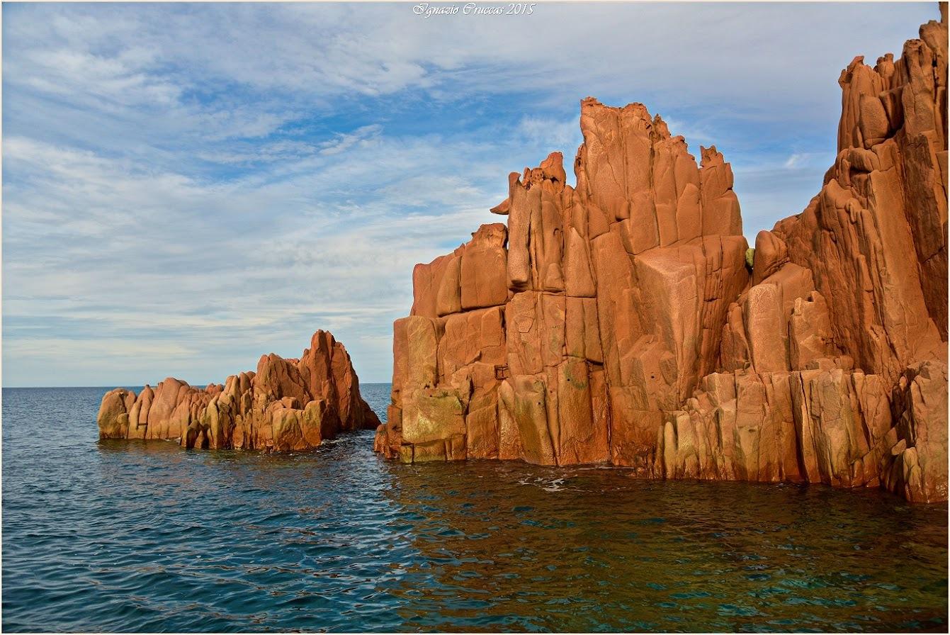 Arbatax Sardinya Red Rocks by ignazio cruccas
