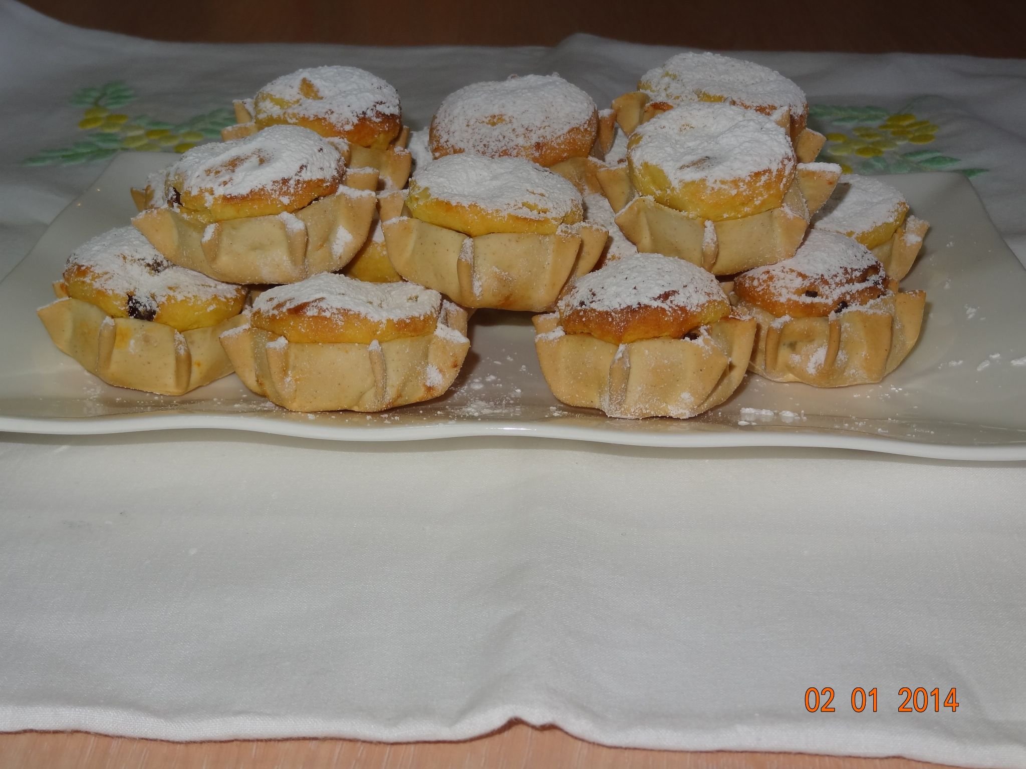 Pardulas typical sweet of Sardinia by ignazio cruccas