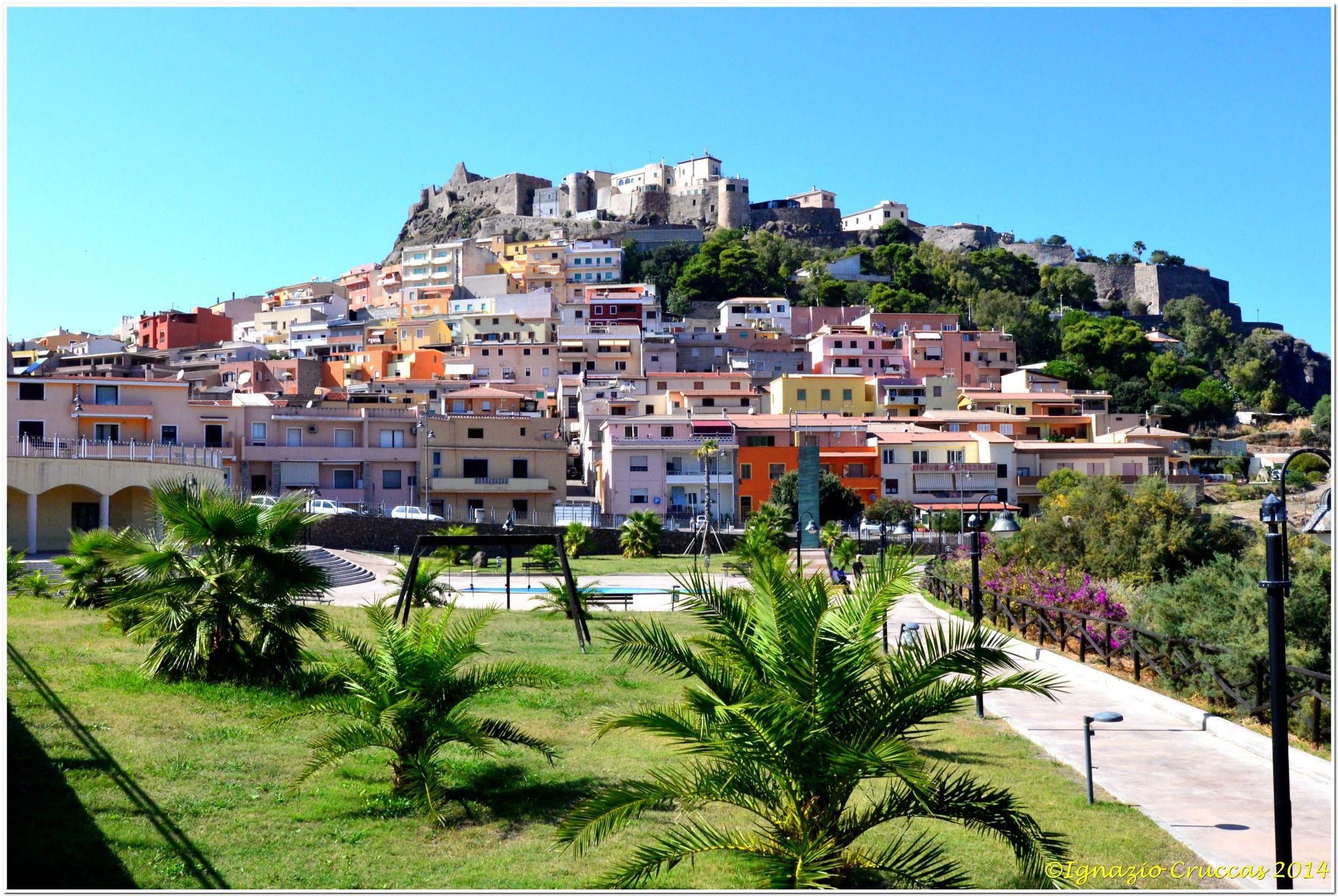 Castelsardo Sardinia Italy by ignazio cruccas