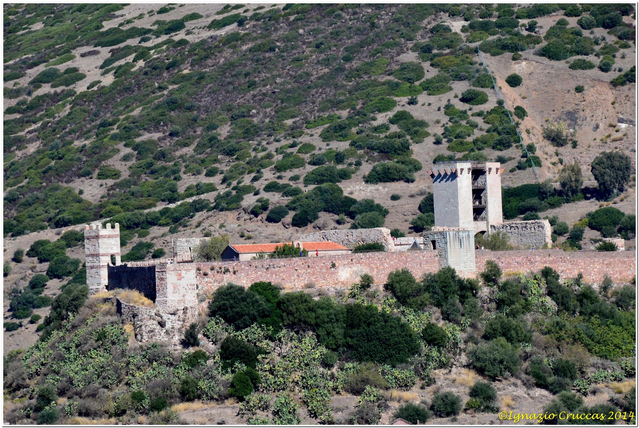 The Castle .... by ignazio cruccas