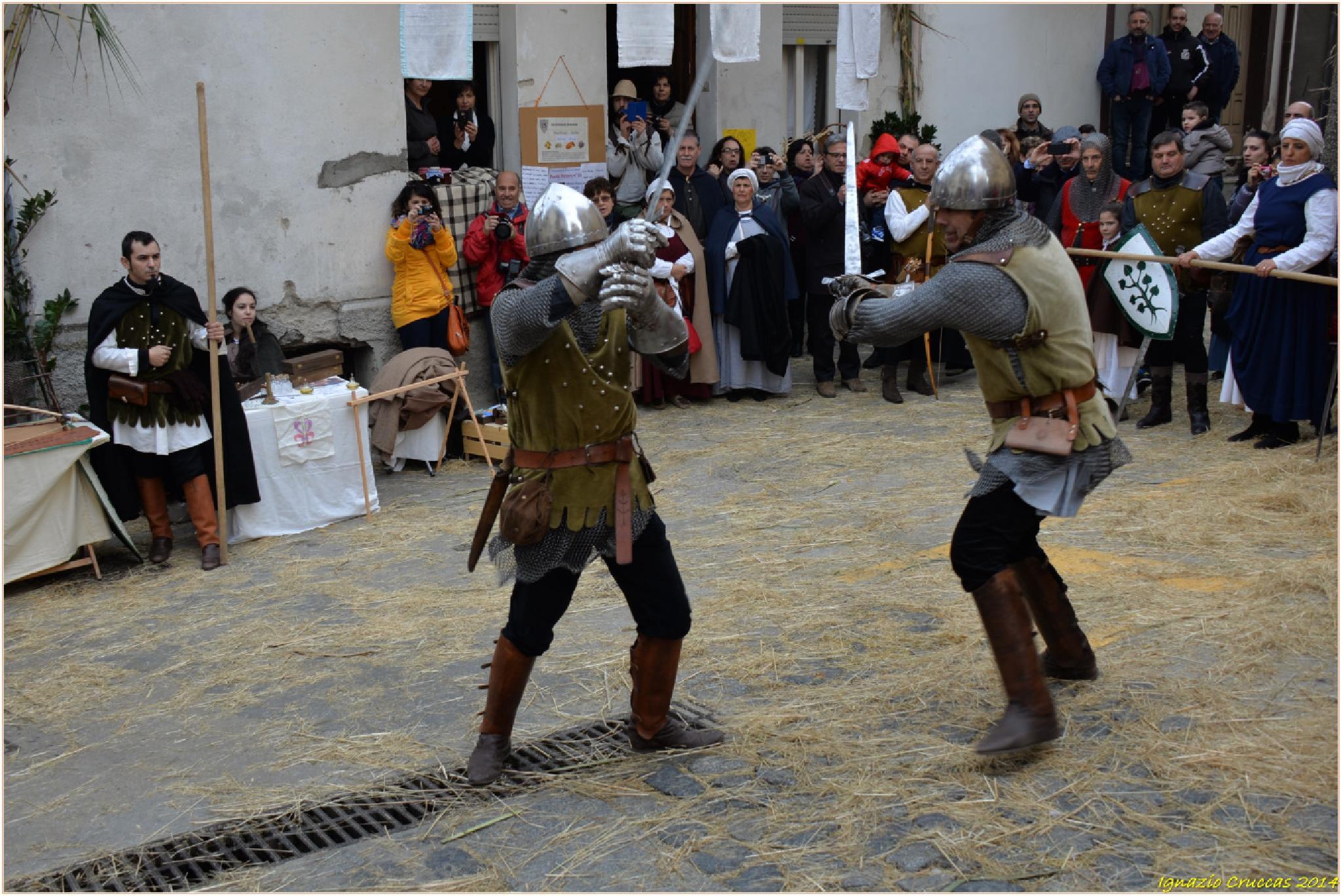 Combattimento con le spade... by ignazio cruccas