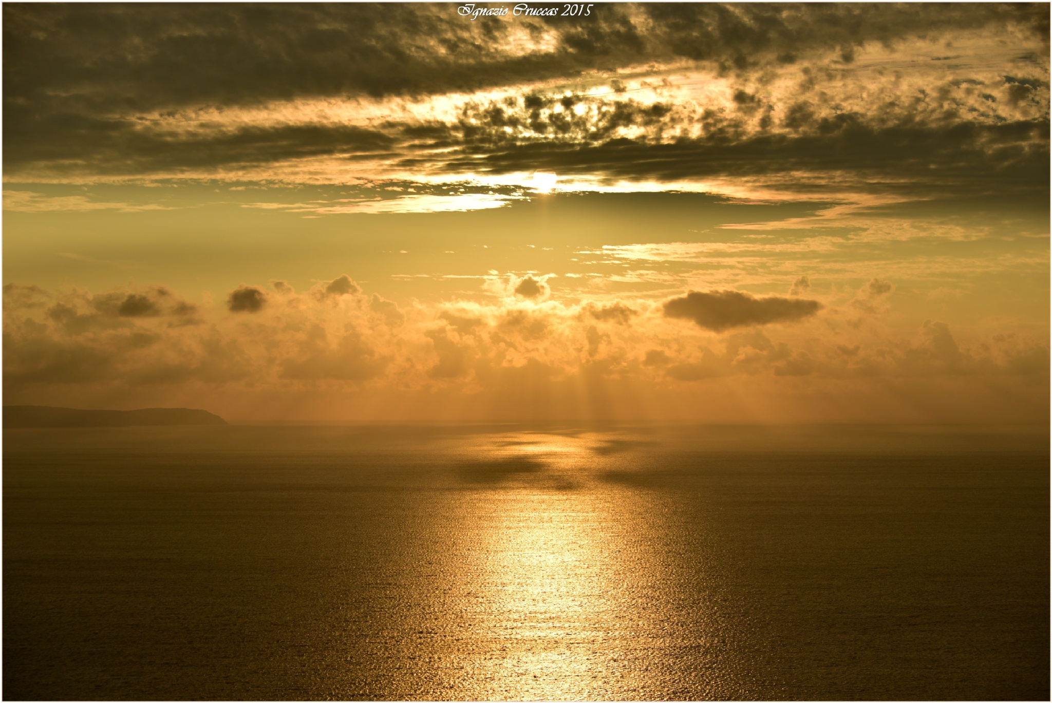 Golden sunset..... by ignazio cruccas