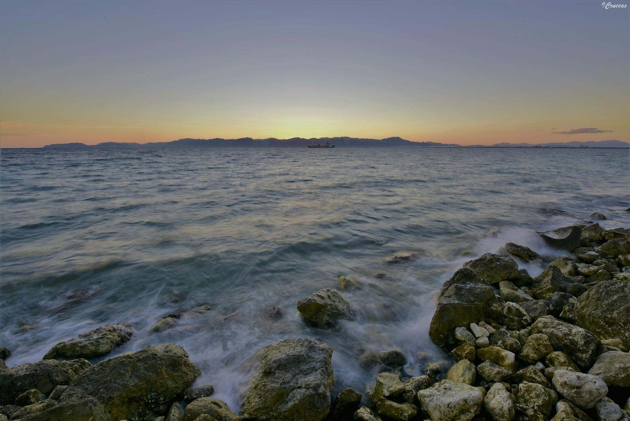 Magic sunset by ignazio cruccas