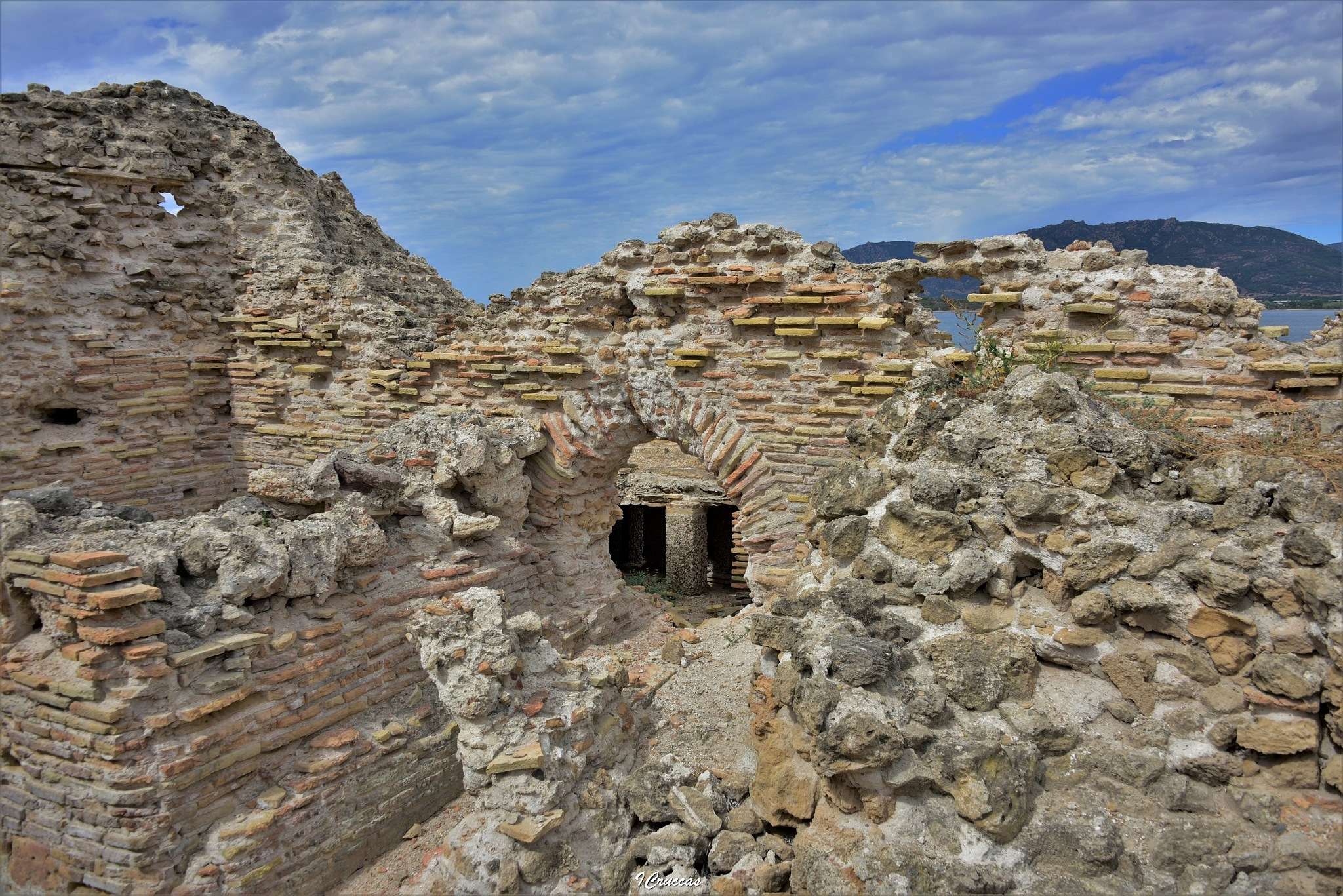 Nora Sardinia Italy: Ruins Roman Baths by ignazio cruccas
