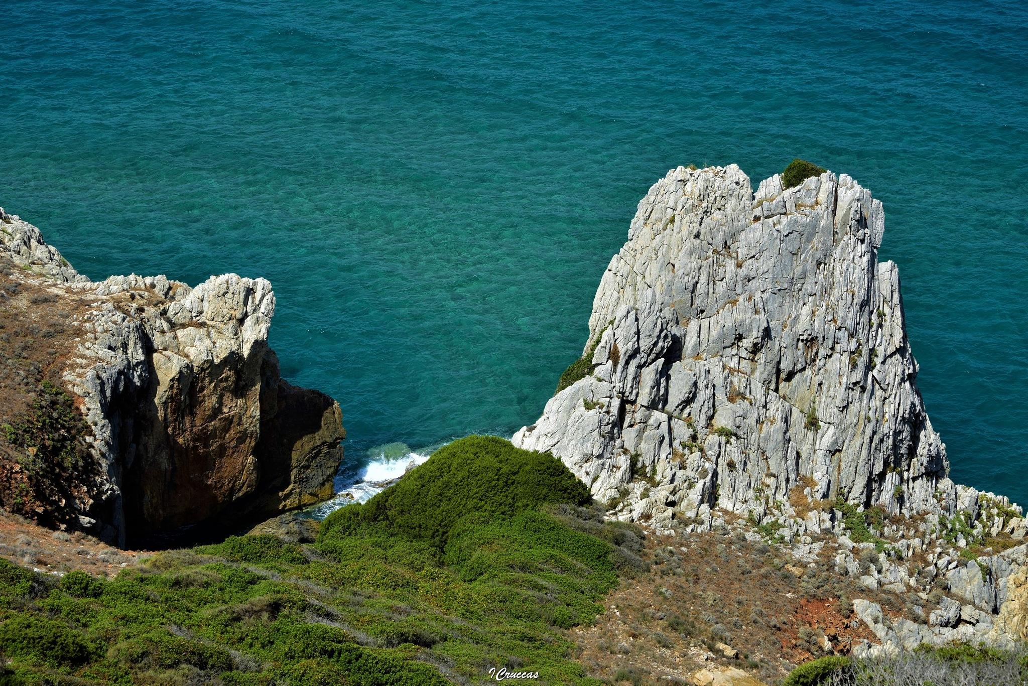 Peak on the sea by ignazio cruccas