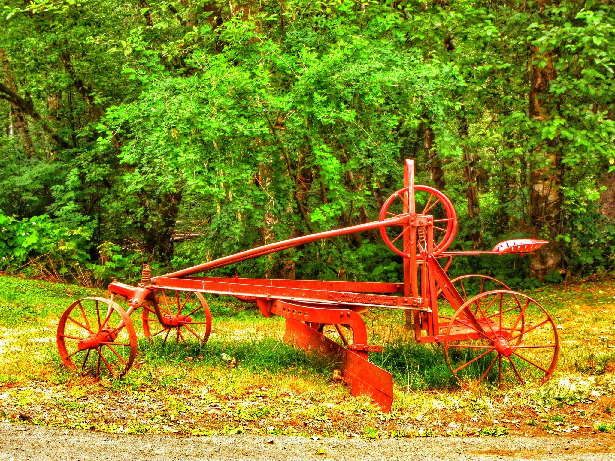 Antique Farm equipment by PMcWhirt