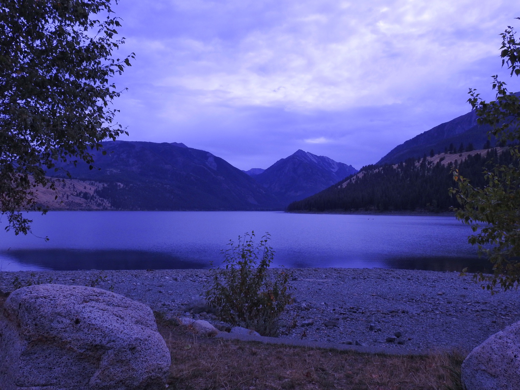 Wallowa Lake at the Blue Hour by PMcWhirt