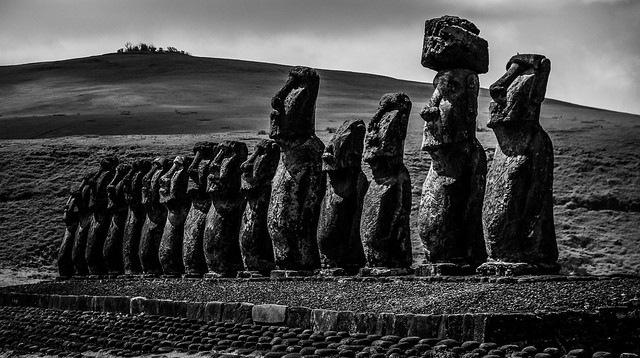 Moai Tongariki by By3nz