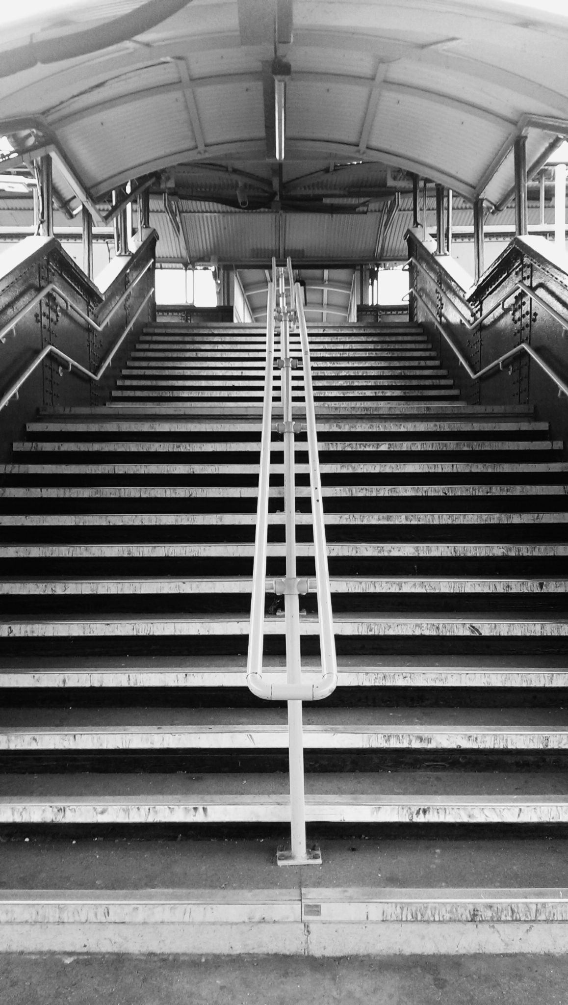 Stairs on the station by OykaZsawok