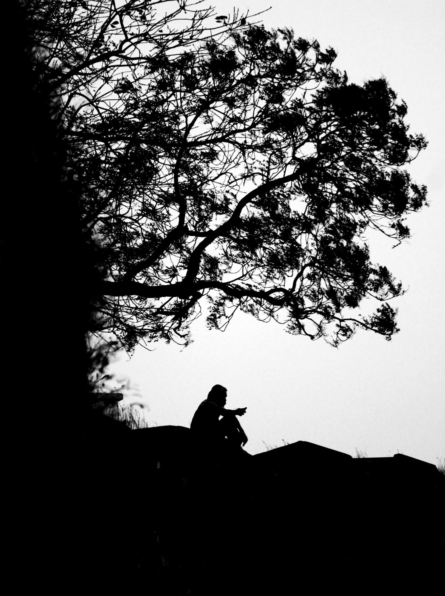 ALONE  by PRIYANKARROY