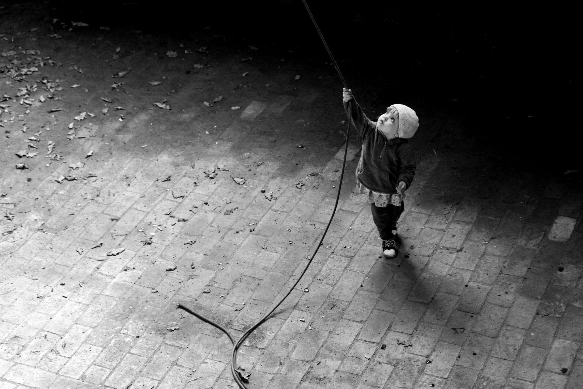 Little girl by Dawid Dworniczak