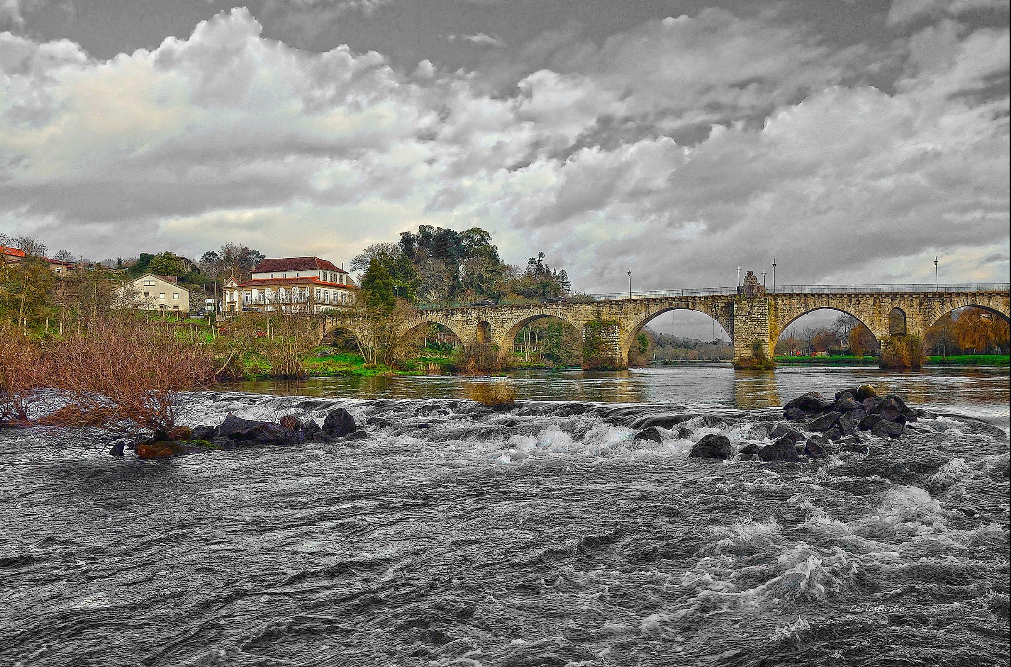 Ponte da Barca by carlosfiuzar