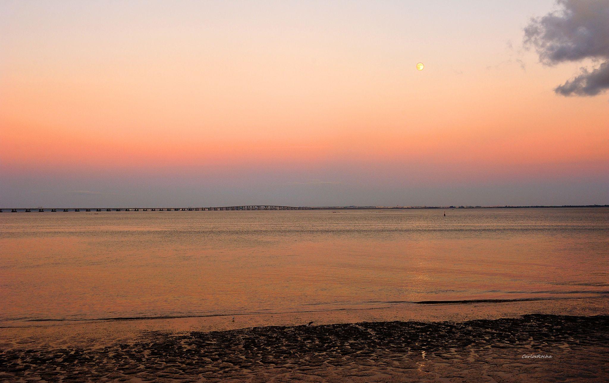 Lua olhando o Tejo by carlosfiuzar