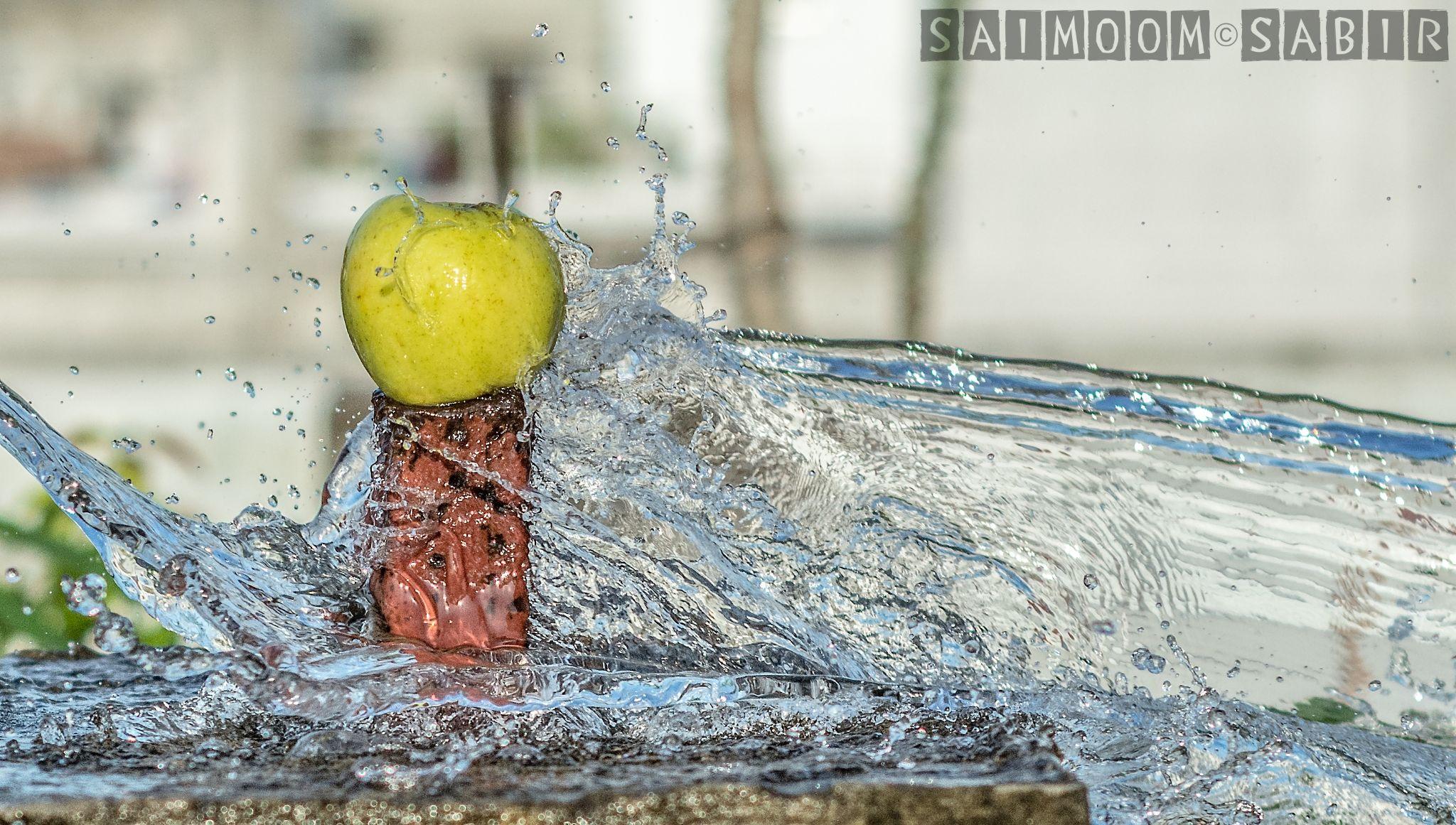 Apple Flood by SaimoomSabir