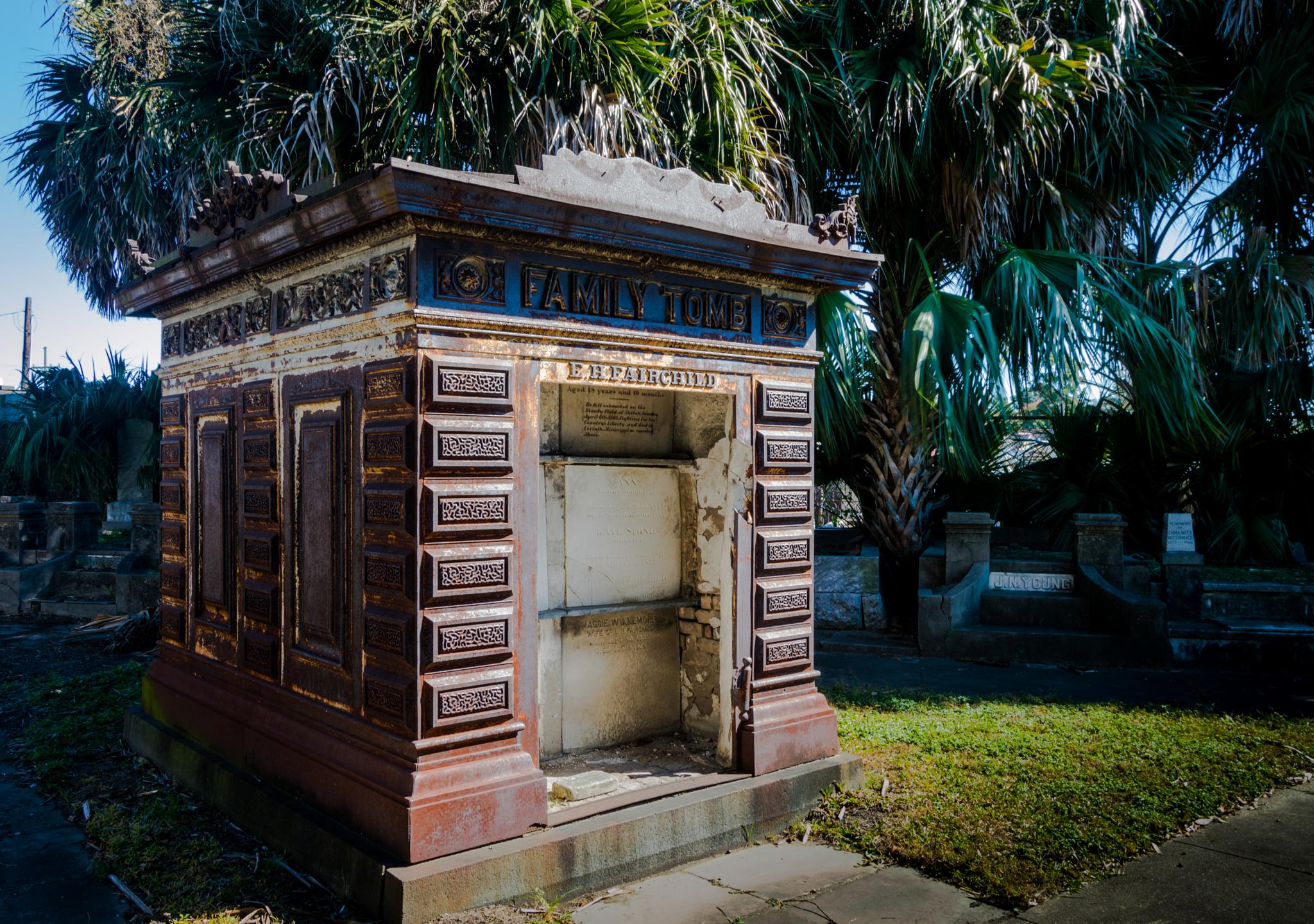 Family Tomb by Brandt