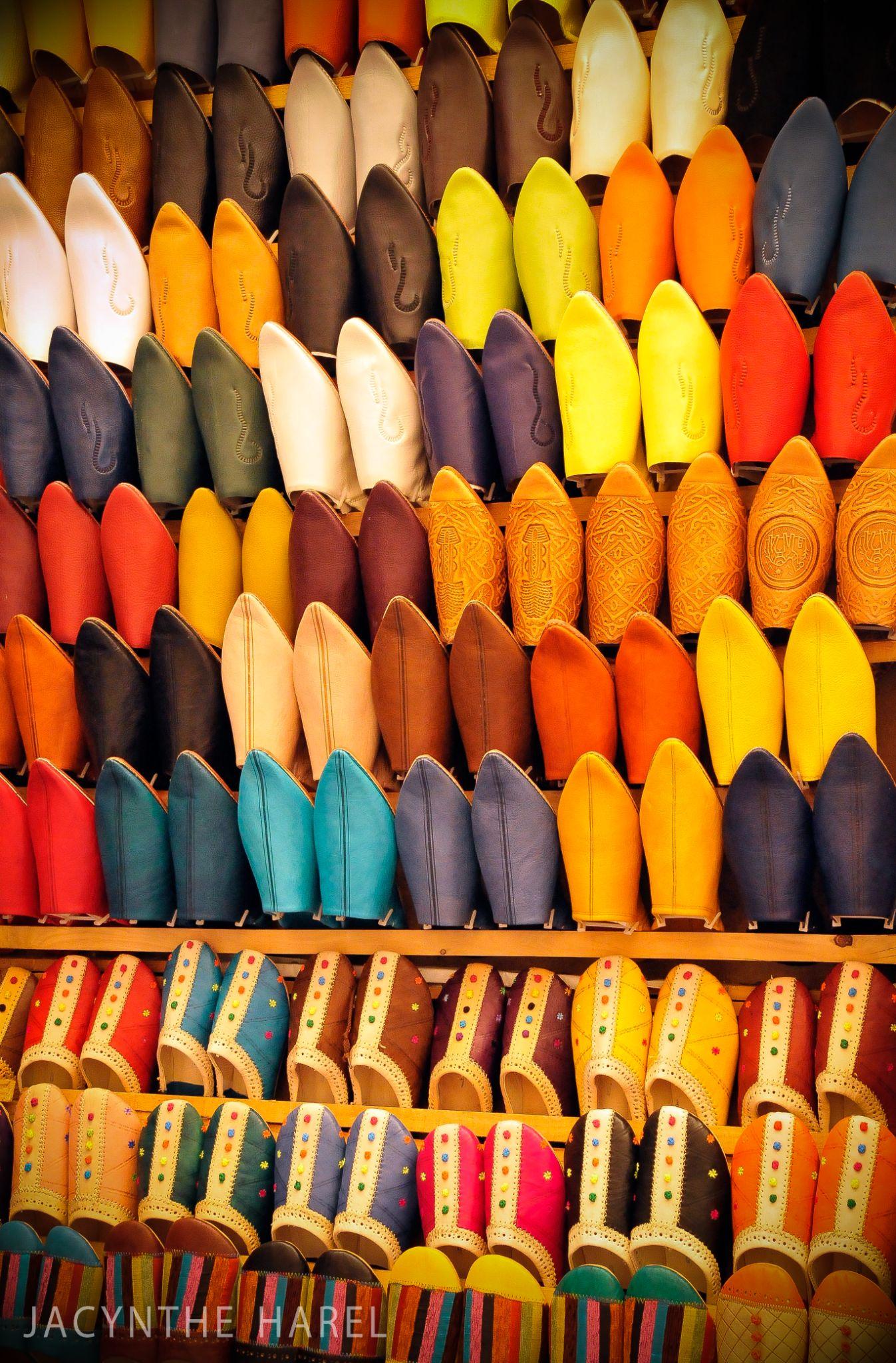 Babouches de Fes, Maroc by jacynthe.harel