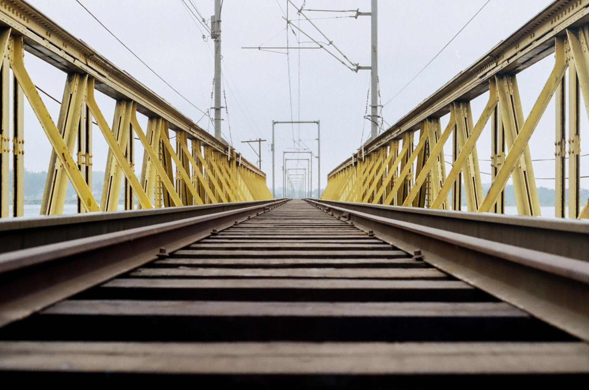 Railroad by Anibal Aguillon Salazar