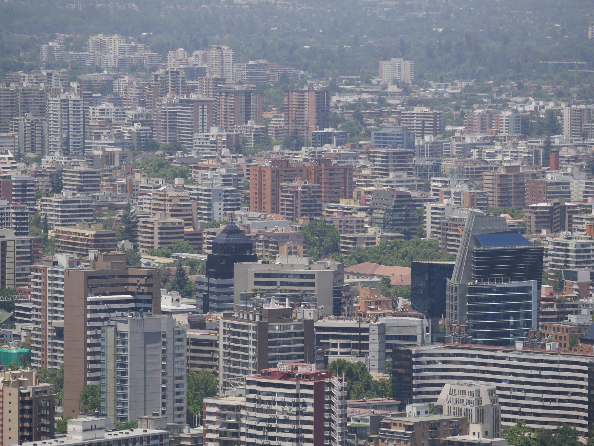 The big city by Anibal Aguillon Salazar