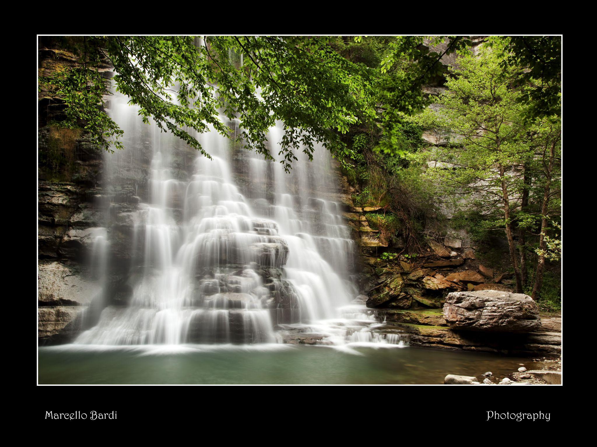Alferello waterfalls by marcello.bardi.3
