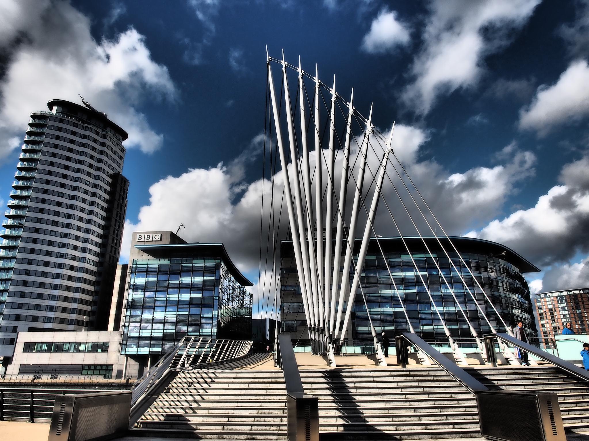 BBC Media City, Salford Quays, Manchester by haydn.greenow