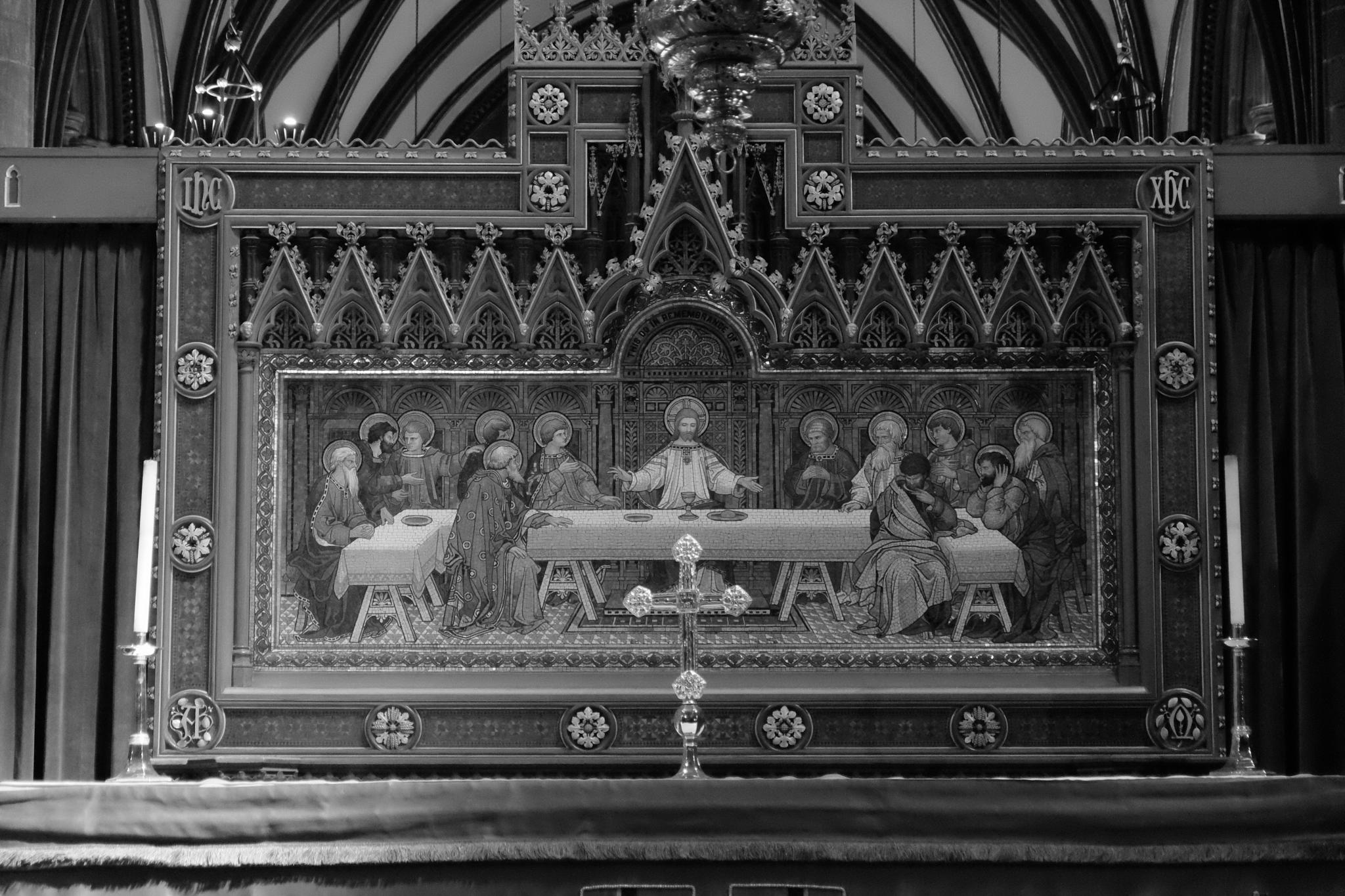 Tapestry, Chester Cathedral by haydn.greenow