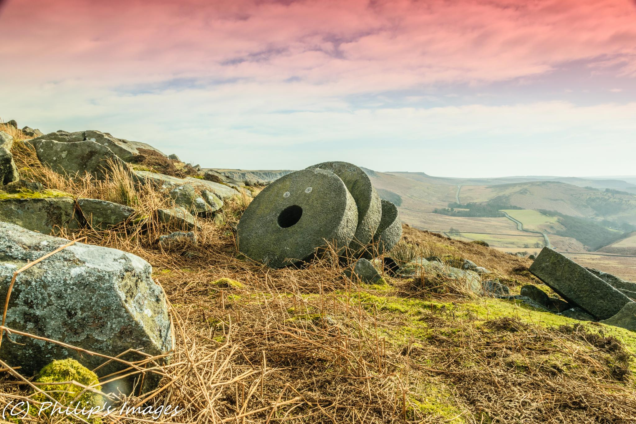 Mill Stones by philips images
