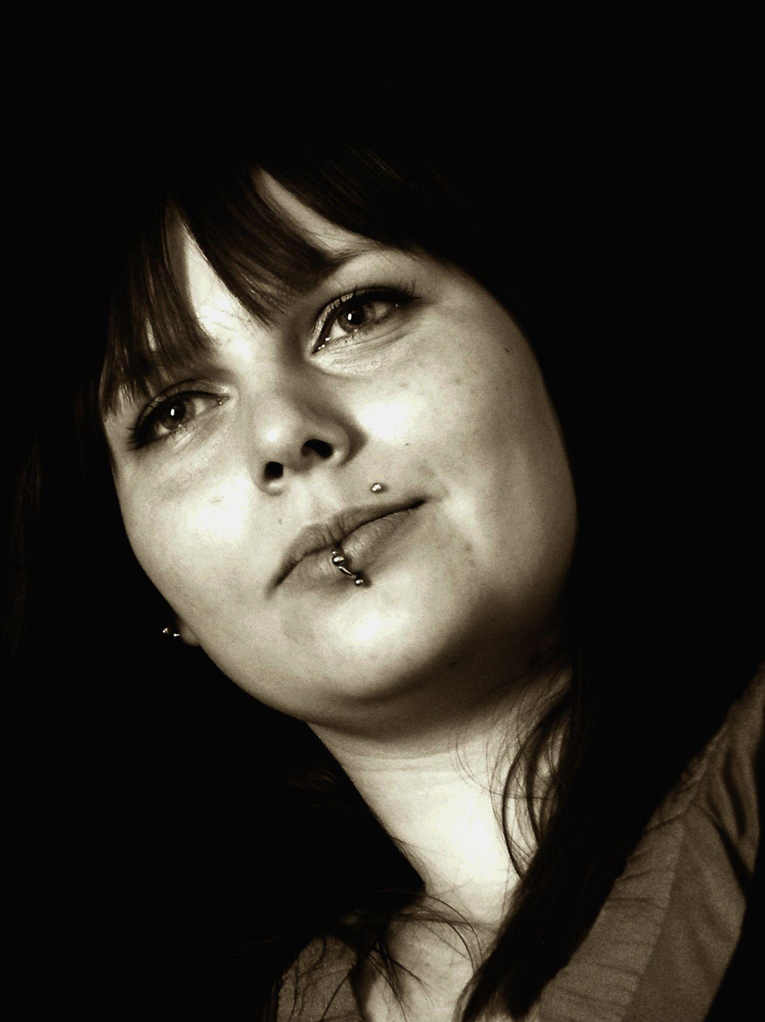 Portrait of a Friend 2 by Kate Ali