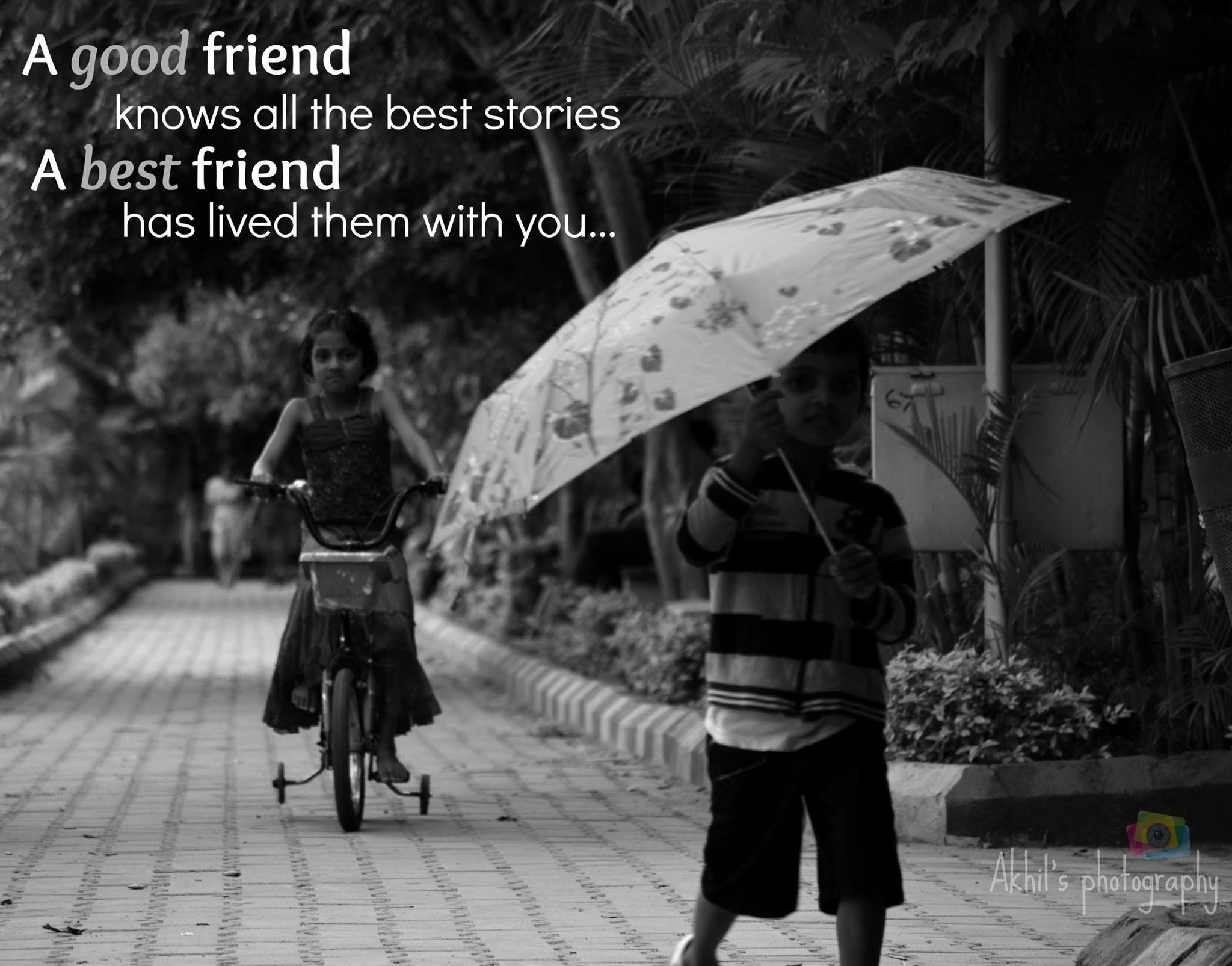 cute friends by akhilkalyan
