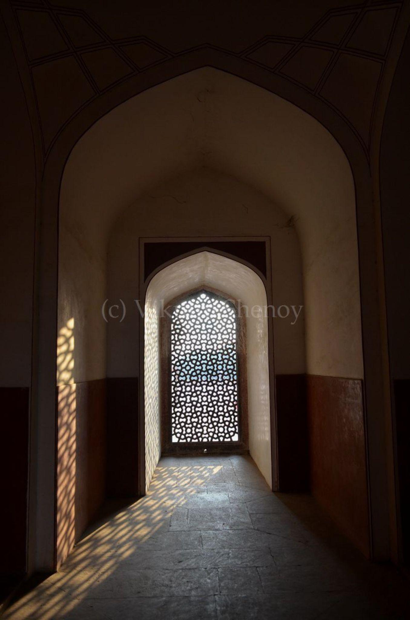Rays in the Sanctum by Vikram Shenoy