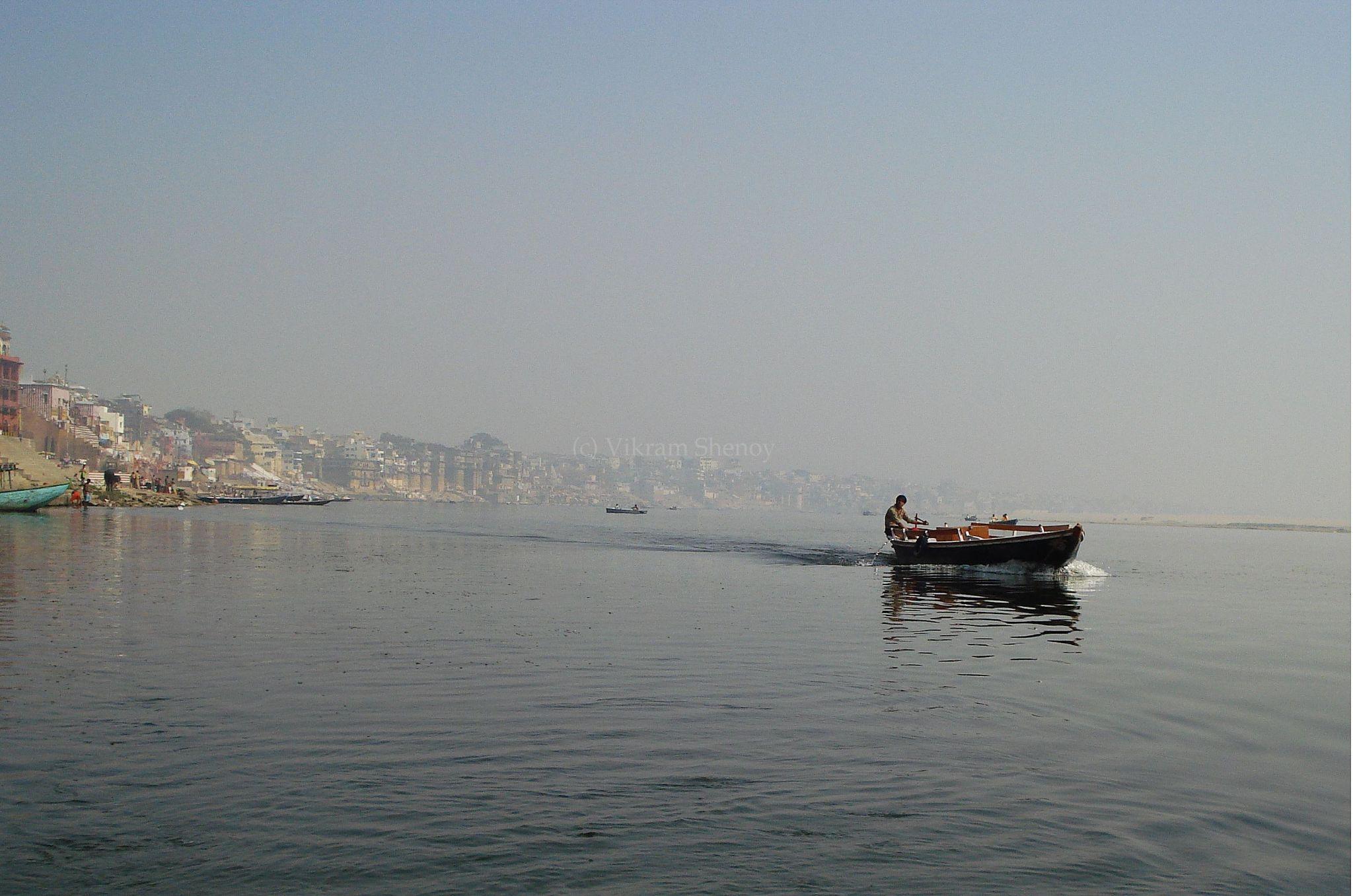 The Boatman by Vikram Shenoy