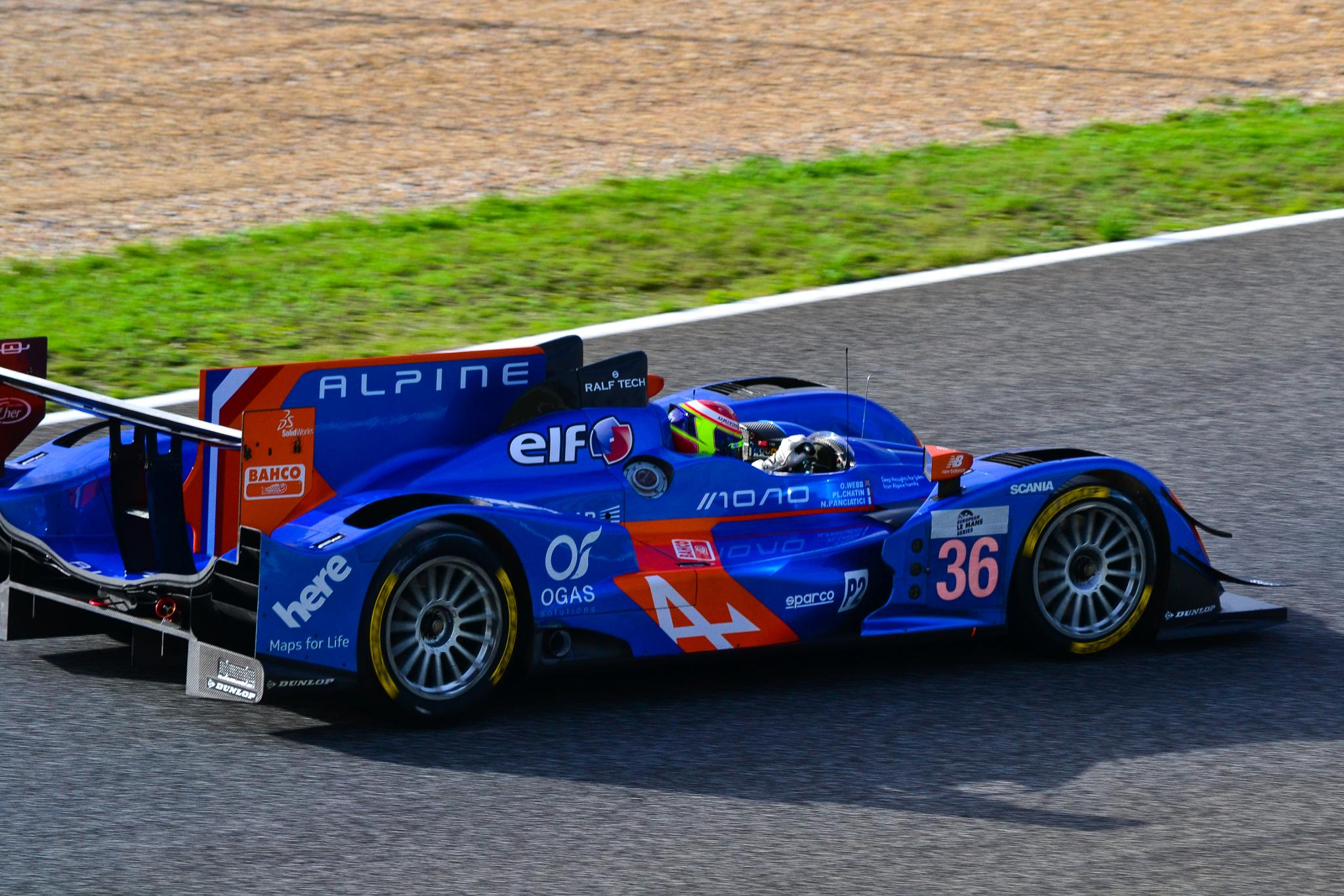 Alpine ELMS P2 racing car by José Pedro Borges