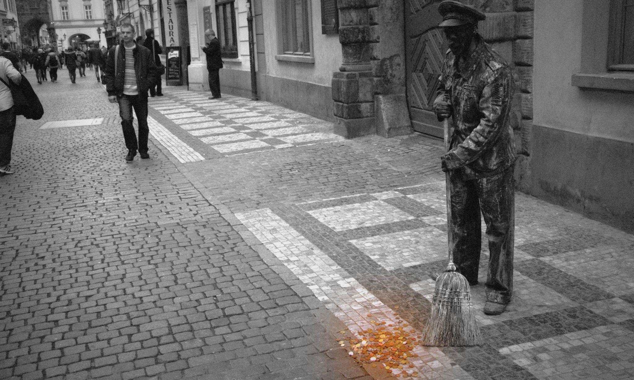 Prague street by rastislavk1