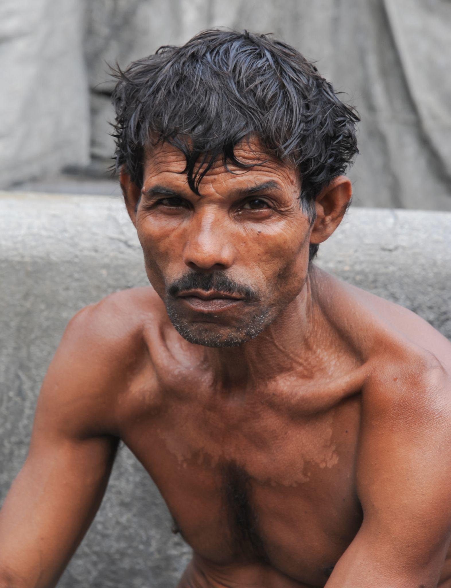 worker by heinz homatsch