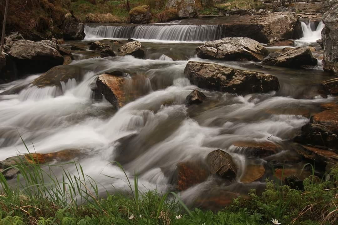 from beneath the waterfall of Tvindefossen  by janatlemonsen