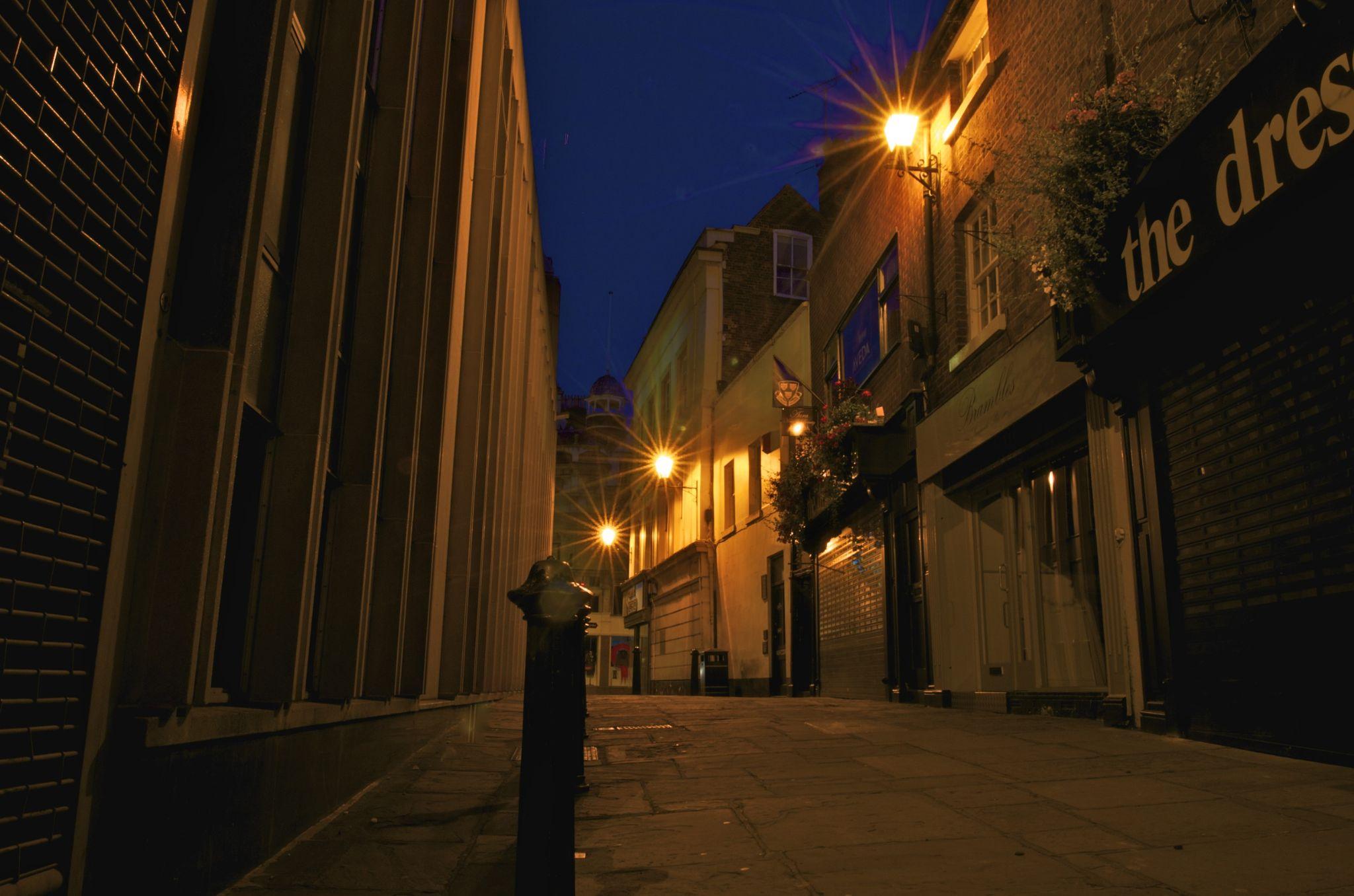 Shrewsbury side street by Rob Williams