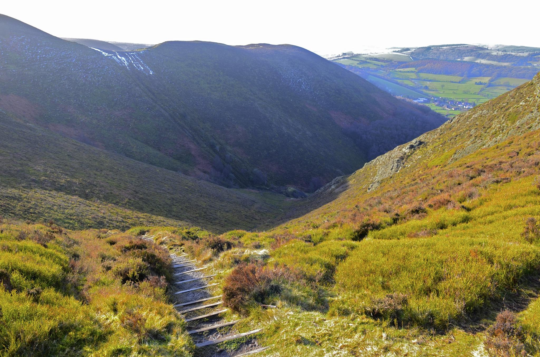 steps from the devils chair  by Rob Williams