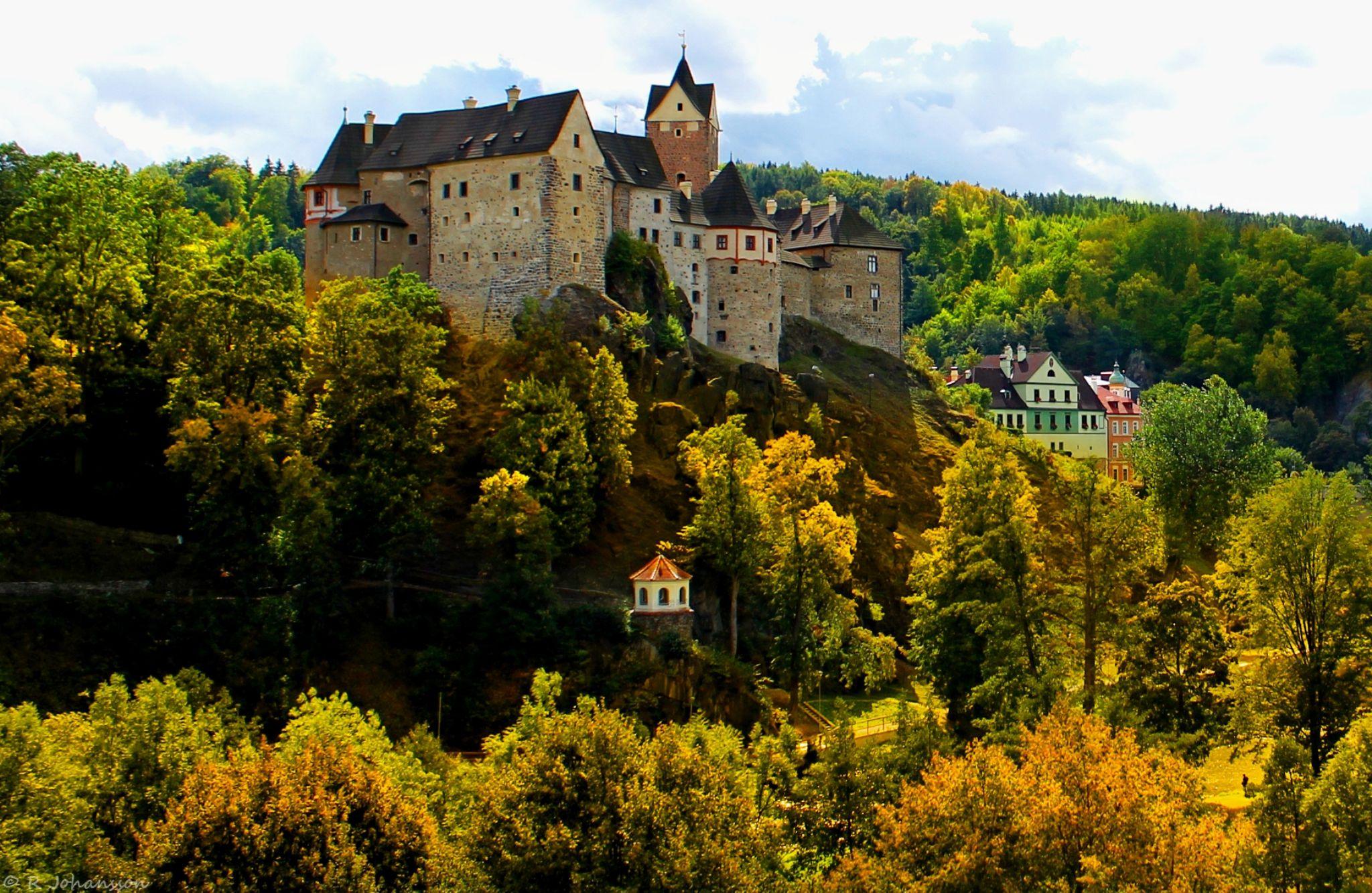 Loket Castle by roger.joh