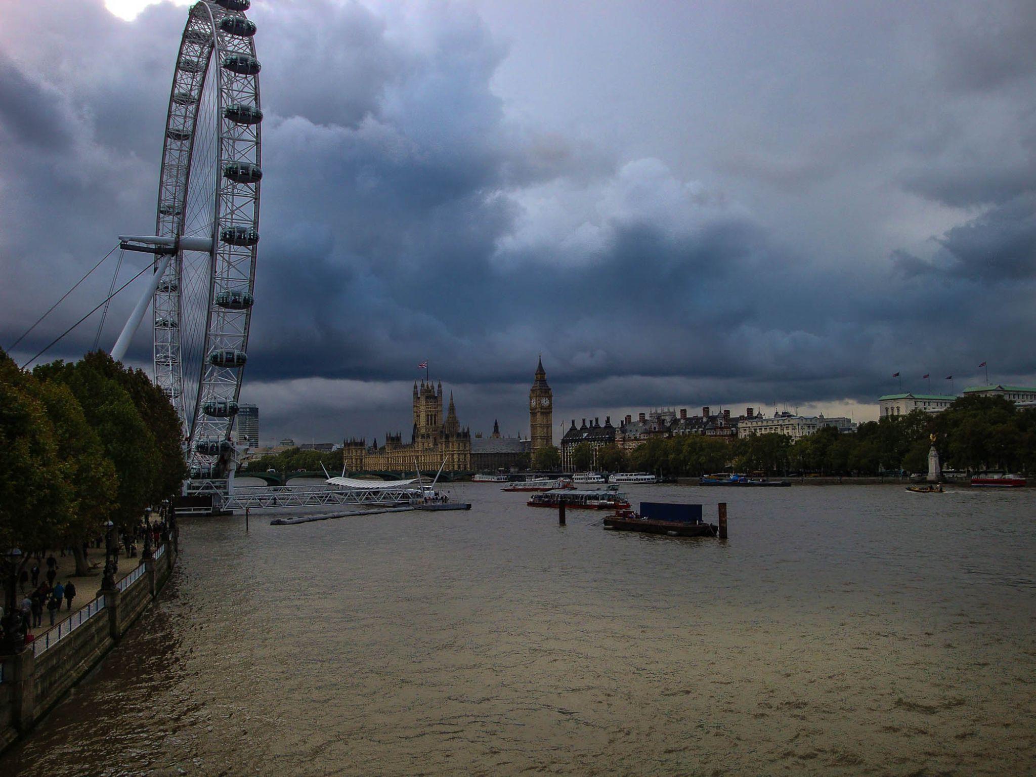 London Eye by roger.joh