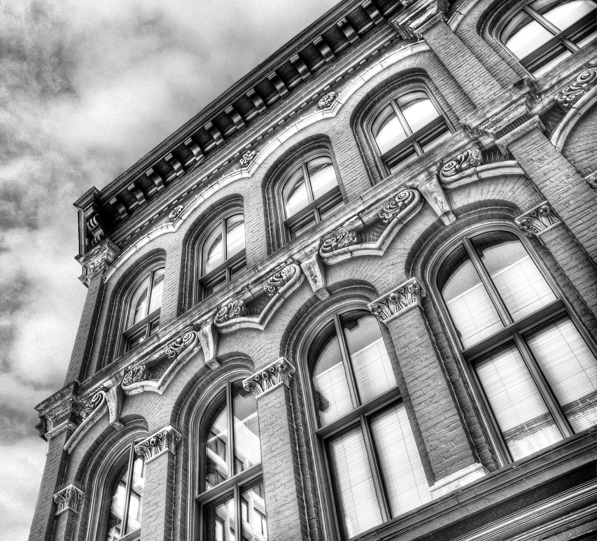 Old Building, Ottawa, Canada by John Paper